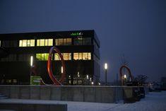 Gebäude H auf dem Campus Wilhelminenhof