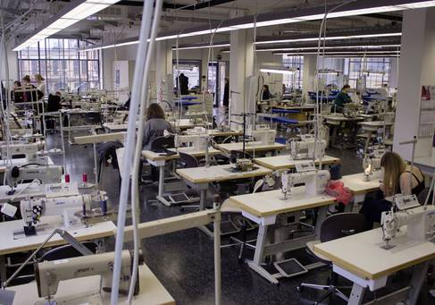 Das Labor für Verarbeitungstechnik