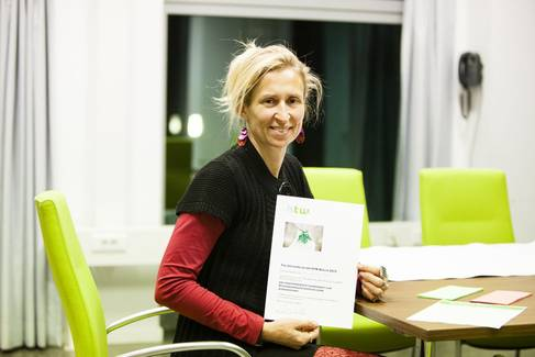 Siegerin Anja Pfennig
