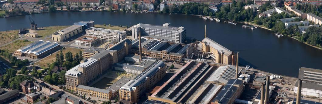 Luftbild vom Campus Wilhelminenhof © HTW Berlin/Philipp Meuser