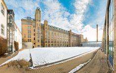 Gebäude C auf dem Campus Wilhelminenhof