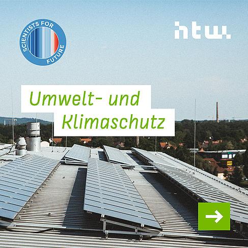 Infos zum Umwelt- und Klimaschutz der HTW Berlin