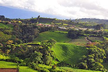 Landwirtschaftliche Flächen in Costa Rica