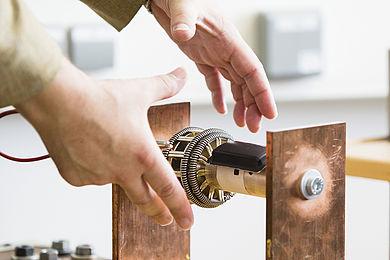 Patentierter Sensor auf einer Schaltanlage
