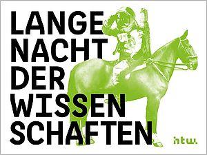 Plakatmotiv der Langen Nacht der Wissenschaften an der HTW Berlin 2017
