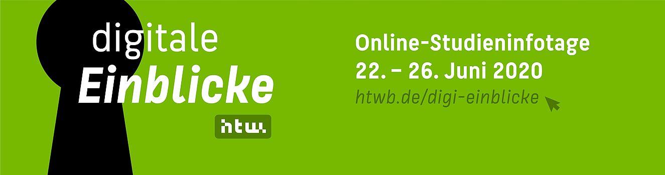 Digitale Einblicke: Online Studieninfotage vom 22. bis 26. Juni 2020