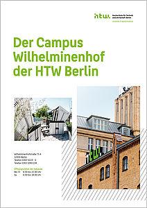 """Cover von """"Der Campus Wilhelminenhof der HTW Berlin"""""""