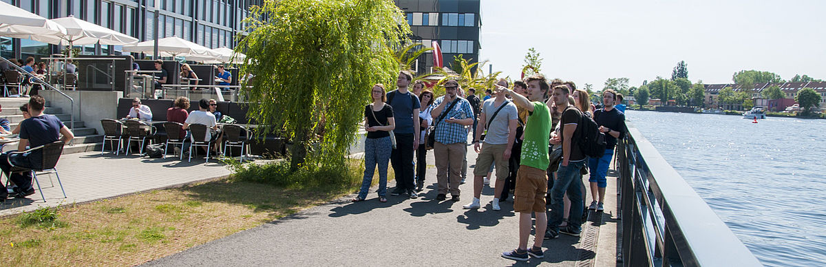 Tour on Wilhelminenhof campus