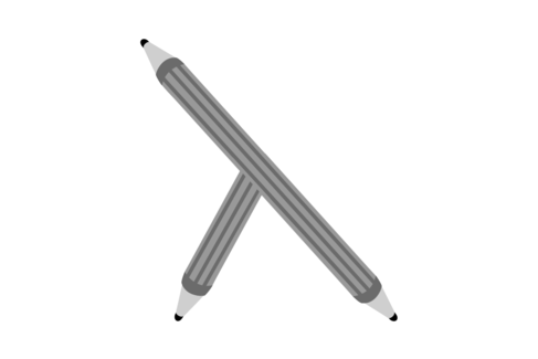 Pencil with three points