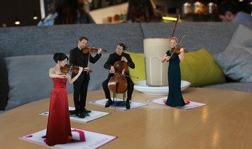 """Konzerthaus Berlin """"Making off Virtuelles Quartett"""