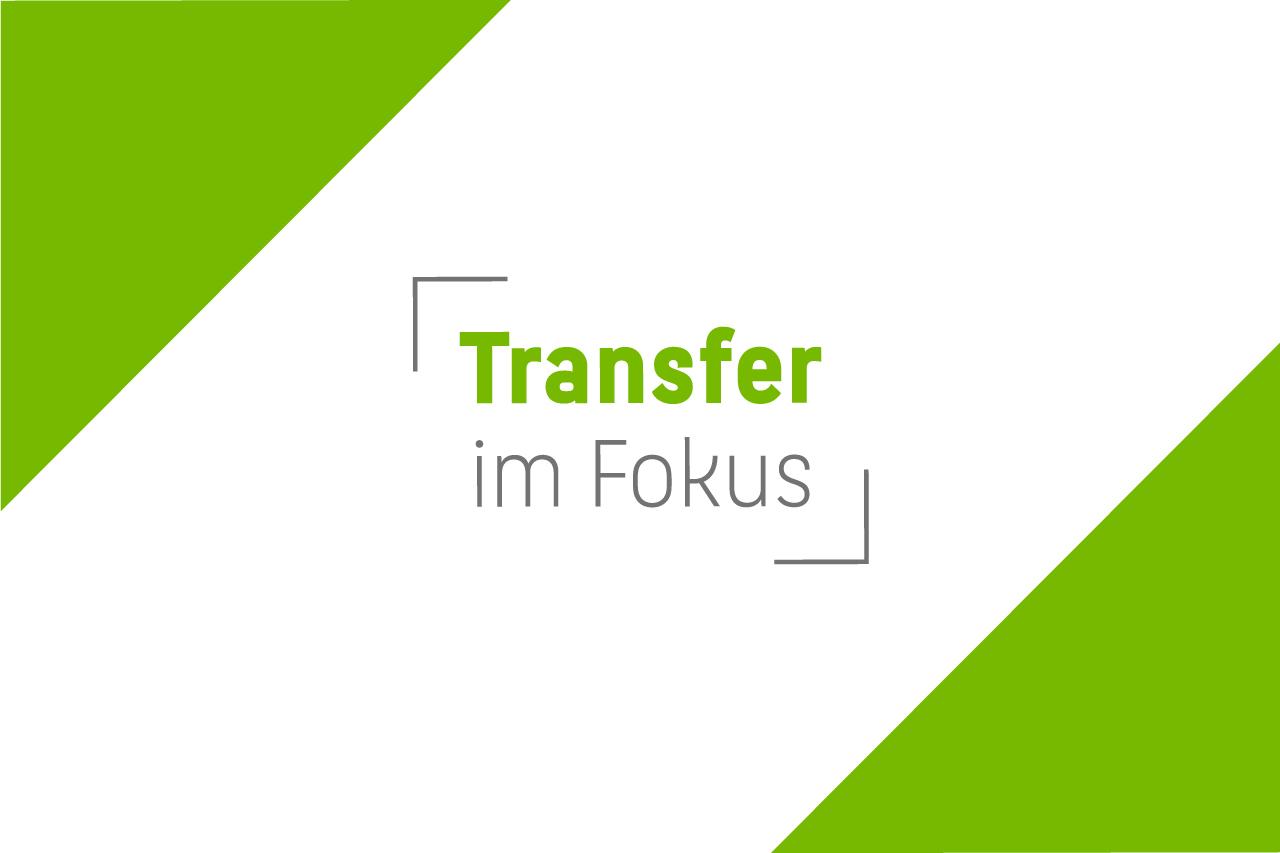 Die Wort-Bild-Marke für das Format Transfer im Fokus