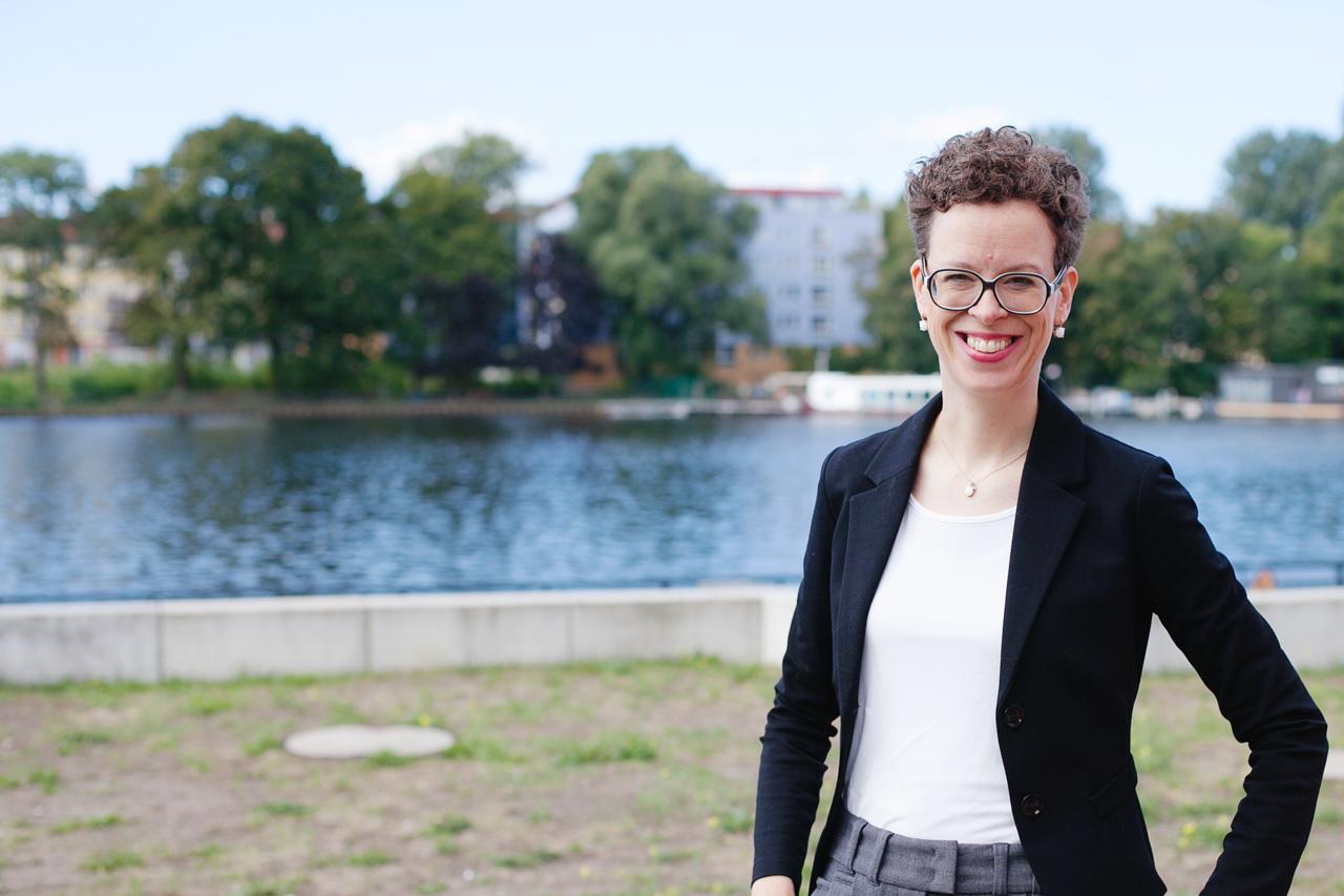 Stefanie Molthagen-Schnöring, Vizepräsidentin für Forschung und Transfer der HTW Berlin © HTW Berlin/Maria Schramm