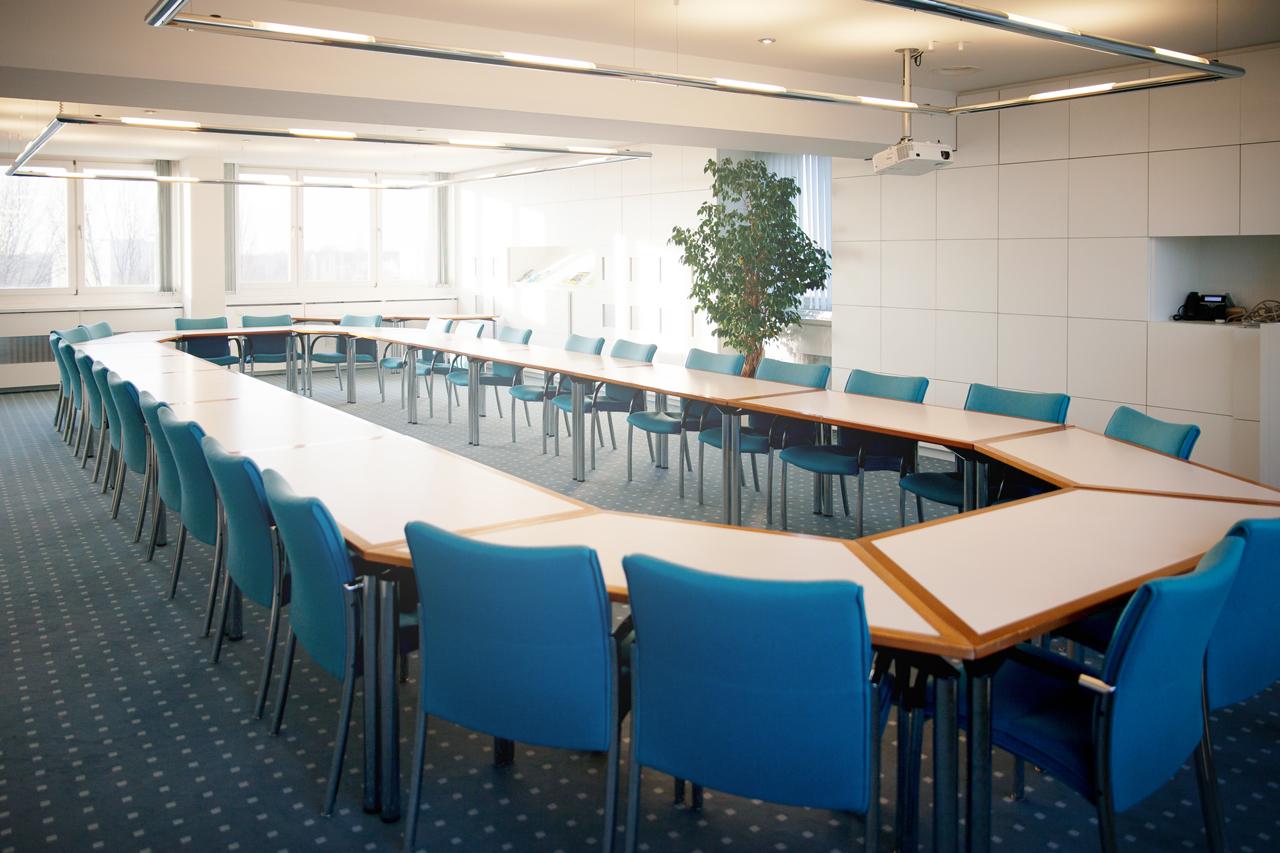 Der Tagungsraum des Kuratorium © HTW Berlin/Camilla Rackelmann